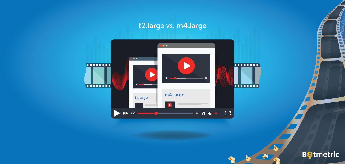 ​Ultimate Comparison of AWS EC2 t2.large vs. m4.large for Media Industry